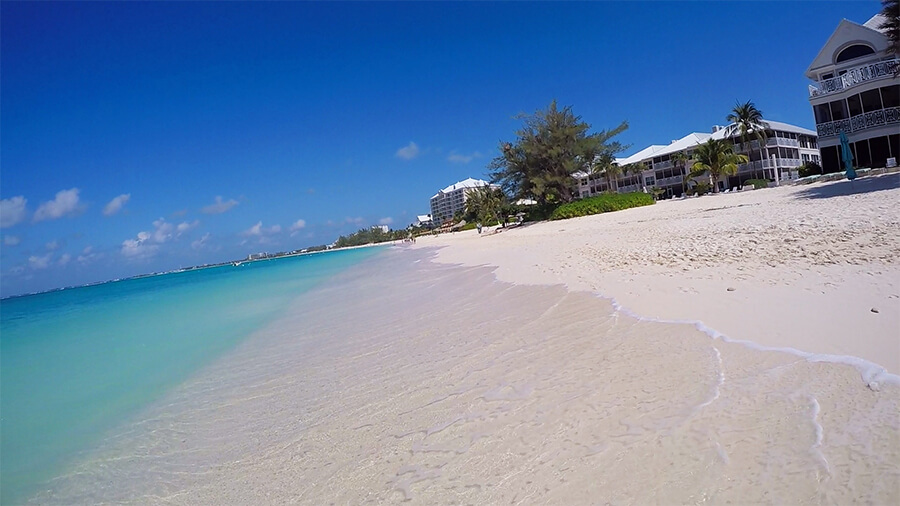 Seven Mile Beach is one reason why you should travel to Grand Cayman