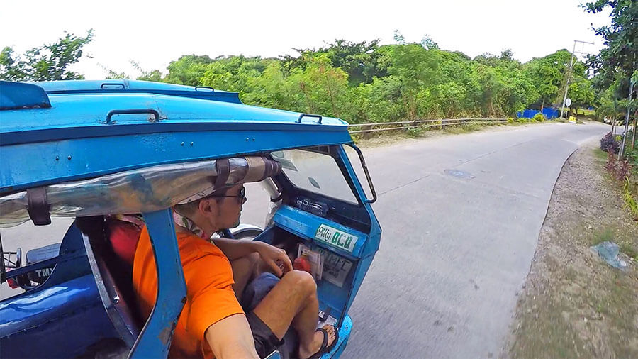 Tuk Tuk in Boracay is one of the main transportation in Boracay Philippines